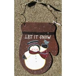 1166 - Tin Let It Snow Mitten