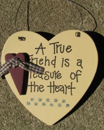 1168 - A True Friend is a Treasure of the Heart